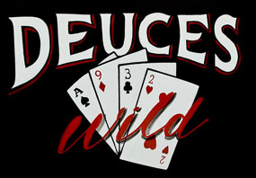 Deuces-Wild poker